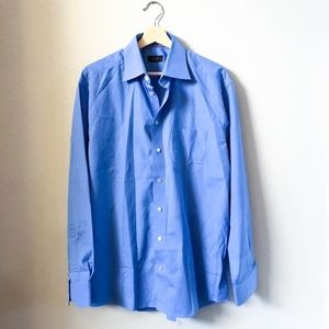 ETON Luxury Shirtmaker Slim Fit Dress Shirt 42 L